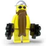 Kameramann mit Bart